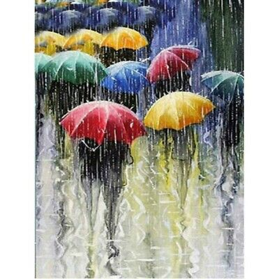 AU15.99 • Buy 5D DIY Diamond Painting Full Drill Umbrella Embroidery Crafts Kits Home Decor