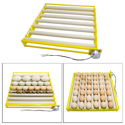 AU29.32 • Buy Egg Incubator Tray Automatic Egg Roller For Duck Goose Pigeon 7 Tubes