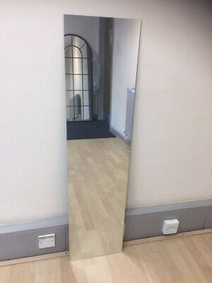 £40 • Buy Mirror Glass Gym, Studio Or Home Pack Of 5 3mm Thick 4ft X 1ft 122cm X 30.5cm