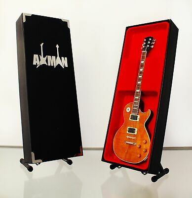 $ CDN43.26 • Buy (Thin Lizzy) Gary Moore:Miniature Guitar Replica - Display Case & Stand Included