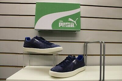 Men's Puma Clyde Normcore Retro Trainers In Peacoat Blue UK 8 EU 42 • 29.99£