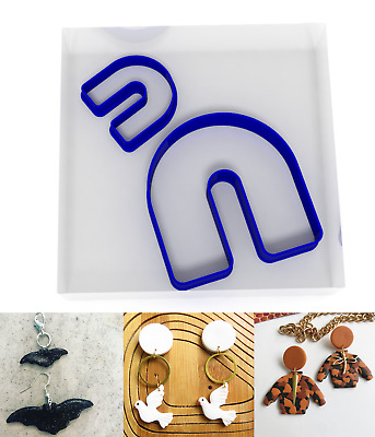 £3.49 • Buy SMALL 3/5CM Arch Polymer Clay Cutter Jewellery Making Kit Craft Set Tunnel