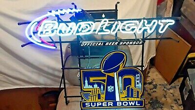$ CDN356.82 • Buy Vintage Bud Light Neon (super Bowl) Display Sign