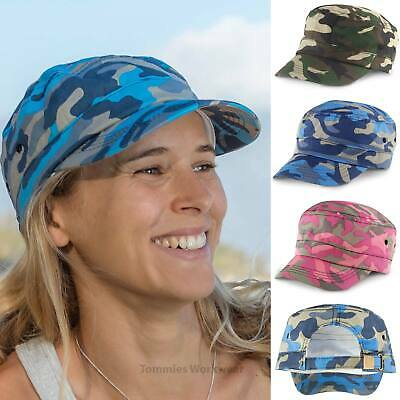 £7.99 • Buy Urban Camo Cap Camouflage Army Cap Mens Womens Military USA Cadet Style