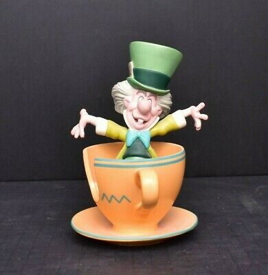 $ CDN643.84 • Buy  A Mad Whirl Mad Hatter From Disney Attraction Tea Party ARTIST SIGNED FIGURINE
