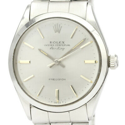 $ CDN3229.41 • Buy Vintage ROLEX Air King 5500 Stainless Steel Automatic Mens Watch BF522678