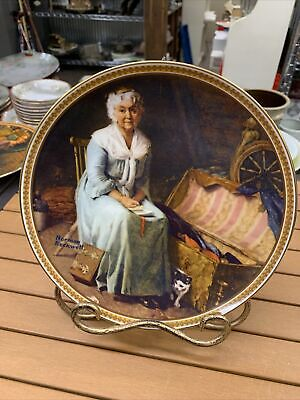 $ CDN14.98 • Buy Norman Rockwell Collectors Plates Rediscovered Women  Reminiscing In The Quiet
