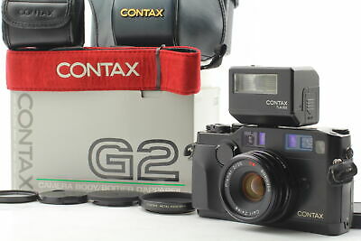 $ CDN4999.19 • Buy [All Top MINT] Contax G2 Black In Box + Planar T* 35mm F/2 + TLA 200 From JAPAN