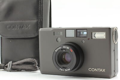 $ CDN2757.03 • Buy [Near MINT In Case] Contax T3 Black Point & Shoot Film Camera W/strap From JAPAN