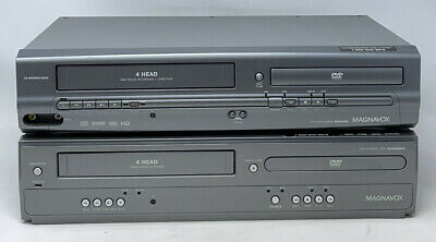 $ CDN60.45 • Buy (LOT 2) Magnavox MWD2205 & DV200MW8 DVD 4-Head VCR Recorder Combo FOR PARTS ONLY