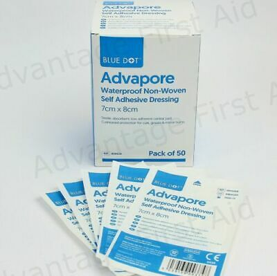 £2.97 • Buy Adhesive Wound Dressings. Large First Aid Sterile Plaster - Advapore.