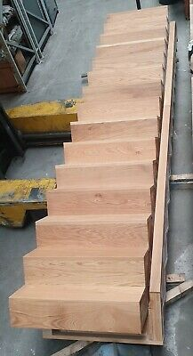£825 • Buy Solid Oak Straight Staircase Stairs - In Stock And Ready For Immediate Delivery