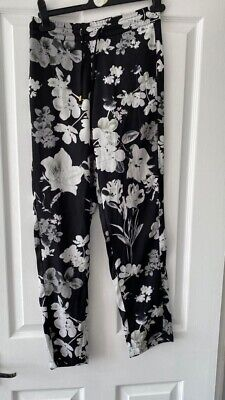 $ CDN6.91 • Buy Size 10 Floral Relaxed Cigarette Pants Style Trousers