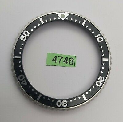 $ CDN26.25 • Buy USED SEIKO MENS BEZEL WITH INSERT FOR 7s26 0020 SKX007 WATCH BVT04748