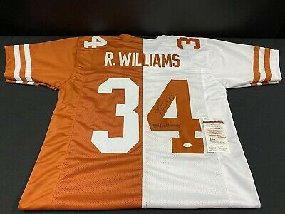 $ CDN12.52 • Buy Ricky Williams Texas Longhorns Signed Custom Stitched Jersey Jsa Witness Coa