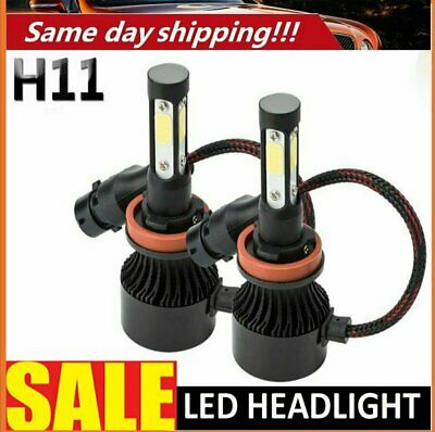 AU23.99 • Buy H11 H9 H8 LED Headlight Kit Low Beam Bulbs 72W 6000K White Replace Halogen Lamp