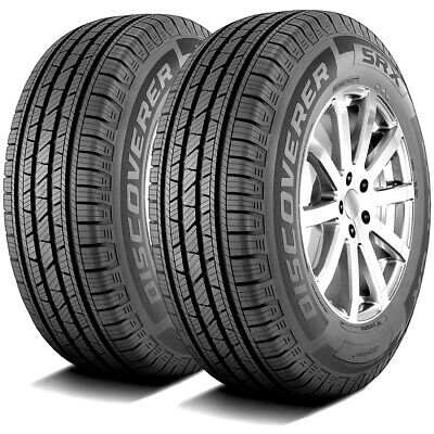 $382.99 • Buy 2 New Cooper Discoverer SRX 255/65R16 109T A/S All Season Tires