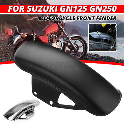 £18.98 • Buy Motorcycle Front Fender Mud Guard Fairing Mudguard Cover For Suzuki GN125 GN250
