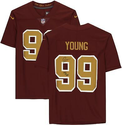 $ CDN538.86 • Buy Autographed Chase Young Washington Football Team Jersey Item#11211477
