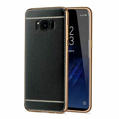 $ CDN8.96 • Buy Samsung Galaxy S7 Edge Handy-Hülle Schutz-Case Chrom Back-Cover Slim Schwarz