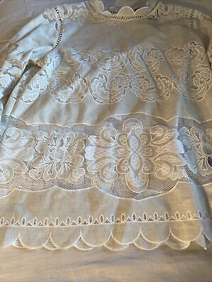$ CDN43.86 • Buy Anthropologie James Coviello 6 Ivory Off White Lace Top Excellent