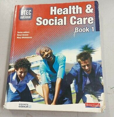 £2.99 • Buy BTEC National Health And Social Care Book 1: Core ... By Beryl Stretch Paperback