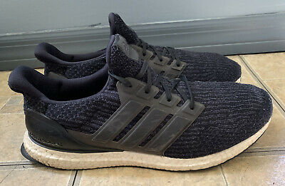 $ CDN50.13 • Buy Adidas Ultra Boost 3.0 Core Black Running Shoes BA8842 Men Size 13