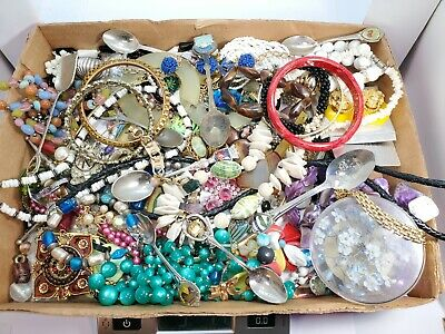 $ CDN13.16 • Buy Estate Find Junk Drawer Jewelry Lot 3lbs~Great For Crafting Or Resell Lot #1