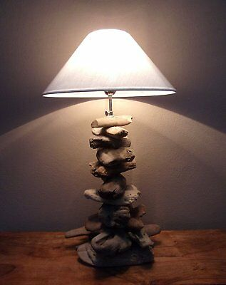£99.99 • Buy Unusual Driftwood Lamp - Hand Made Adjustable Driftwood Lamp Large