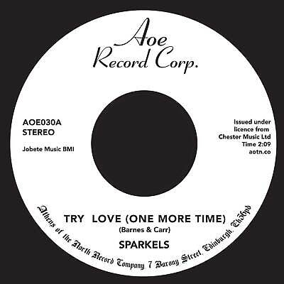 £10.50 • Buy Sparkels - Try Love (one More Time) -  AOE - Northern Soul Classic 45 - HEAR
