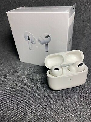$ CDN0.08 • Buy Apple AirPods Pro White Headphones Canal Earbud Wireless Charging Case