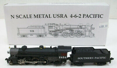 AU164.14 • Buy Model Power 7403 N Scale Southern Pacific 4-6-2 Steam Locomotive LN/Box