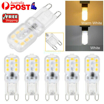 AU15.55 • Buy G9 LED 3W Dimmable Capsule Bulb Replace Halogen Light Lamps AC220-240V Warm/Cool
