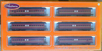 AU550 • Buy Austrains Nswgr End Platform Passenger Coaches Ho Scale  Australian Seller