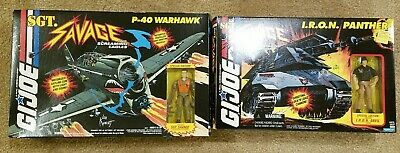$ CDN800.67 • Buy Lot Of 6 GI Joe Sgt. Savage Vehicles MIB