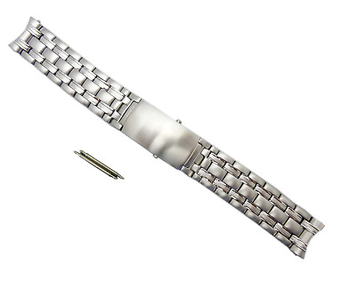 £29.95 • Buy 20mm Stainless Steel Replacement Strap Watch Bracelet Fits Omega Seamaster UK