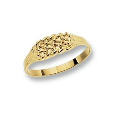 AU157.98 • Buy 9ct Yellow Gold Keeper Babies Ring  New