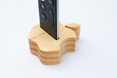 AU4.99 • Buy Hand Made Wooden Holder / Stand For Apple TV Remote (4th & 5th Gen)