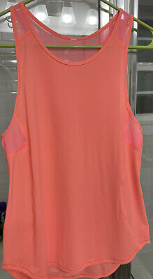 $ CDN25 • Buy Womens Lululemon Sculpt Tank 4 Bright Pinkish Orange - Melon EUC!