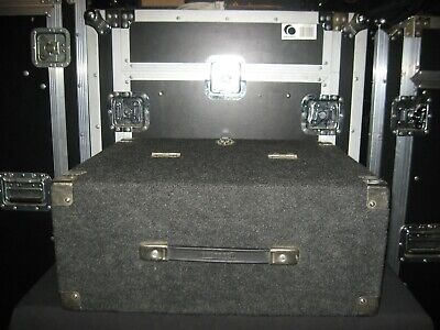 AU191.80 • Buy 4U Wireless Microphone Rack Case. Gray Carpet. Strap Carry Handle.