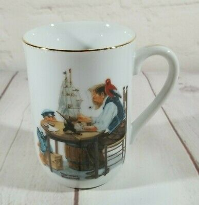 $ CDN5.77 • Buy Norman Rockwell Museum Vintage Collectible Mug -  For A Good Boy
