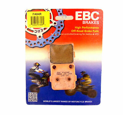 $28.99 • Buy EBC Rear Brake Pads For Suzuki 2003 RM 100 2003 04 05 RM 65 1988 RM 125 FA84R