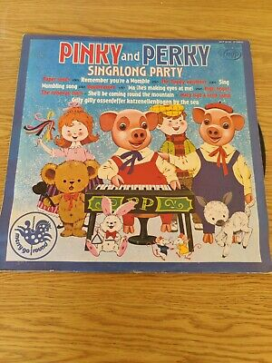 £10 • Buy Pinky And Perky Singalong Party Vinyl LP