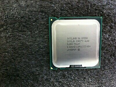 $ CDN37.55 • Buy Intel Core 2 Quad Q9550 2.83GHz Quad-Core CPU Processor SLB8V LGA775 - CPU872