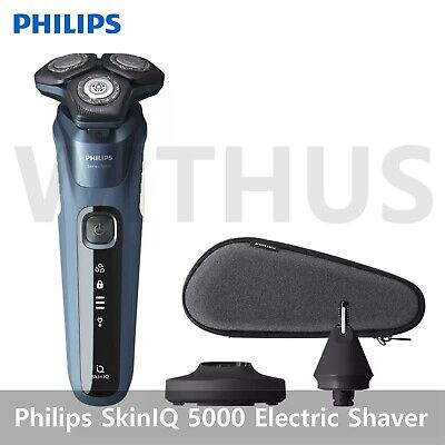 AU219.86 • Buy Philips SkinIQ 5000 Electric Shaver S5582/36 Wet&Dry Series 5000 Ocean  2021 New