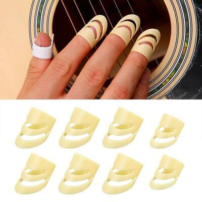 $ CDN6.24 • Buy 8Pcs Guitar Picks Finger Picks Electric Acoustic Guitar Ukulele Index Protection