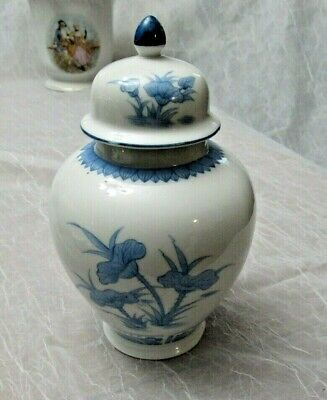 $ CDN38.81 • Buy Seymour Mann Ginger Jar Chinese Lotus Collection Very Good Cond