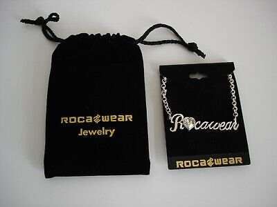 £8.99 • Buy Rocawear Necklace Jewellery Bling Costume Chain Fashion Silver New (D4)