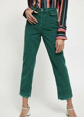 £12 • Buy BNWT Aces High Straight Cord Free People Green Cords Size 26 (UK 6) RRP $108