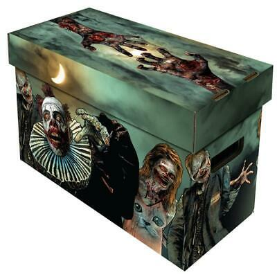 £15.99 • Buy Comic Book Cardboard Storage Box With Zombies Artwork, Holds 150-175 Comics